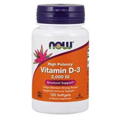 now foods vitamiin D3 - D vitamiin - toidulisandidhulgi.ee