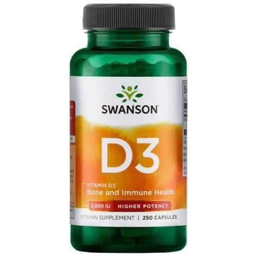 Swanson Vitamin D3 Vitamiin D - toidulisandidhulgi.ee