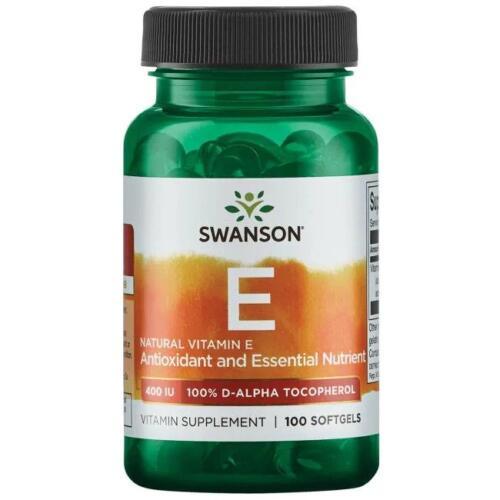Swanson Vitamiin E kapslid - toidulisandidhulgi.ee